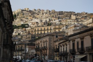 view of Modica (Sicily)