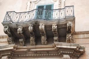 balcone Barocco siciliano